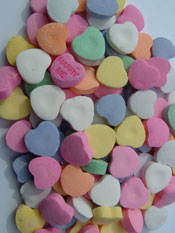 Photo: Candy Hearts