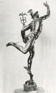 Statue: Winged Footed statue of Mercury Retrograde!
